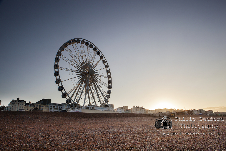 Brighton Wheel at Dawn